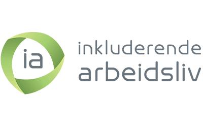 Logo for inkluderende arbeidsliv